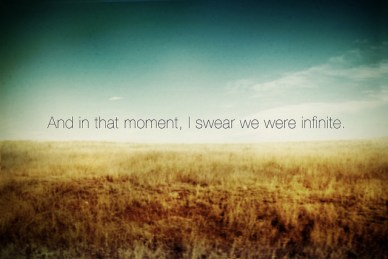 in-that-moment-i-swear-we-were-infinite
