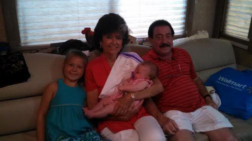 Abbey, Baby Lennon, Grammie & Granddaddy