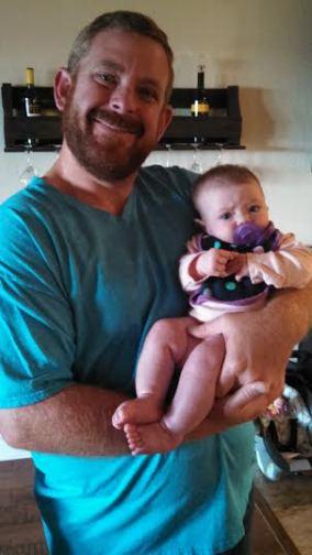 Baby Lennon & Daddy